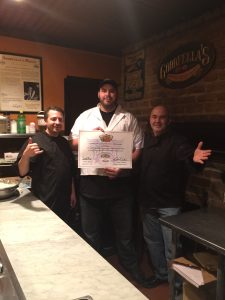Scudera and Cosentino Pizza School of NY