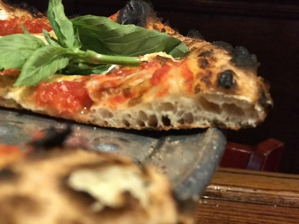 wild yeast starter pizza